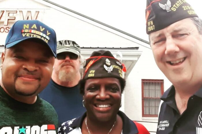 Visit with VFW 2872 Athens