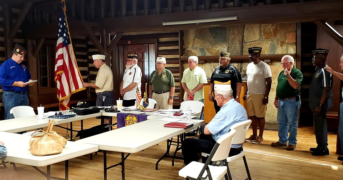 Installing Officers at 3650